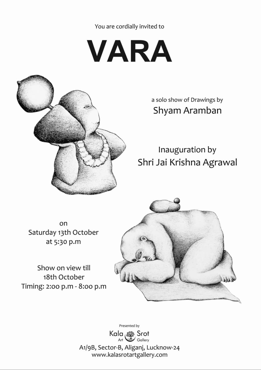 VARA solo show of drawings
